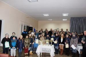 Repreyentanţii Autorităţilor locale din Ungheni alături de sportivi