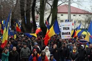 Marș pentru salvarea Republicii Moldova