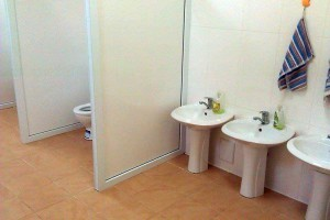 Grup sanitar reparat de primărie