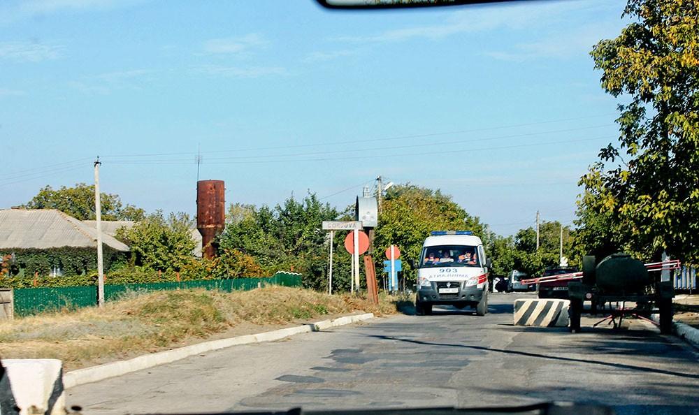 Pentru a ajunge la OMF din Cocieri, locuitorii din Corjova trebuie să treacă de filtrul miliţiei transnistrene