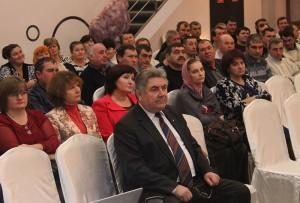Nicanor Buzovoi împreună cu colectivul său