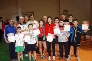 Campionatul oraşului la tenis de masă, în diferite categorii de vârstă