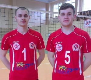 Alexandru Şcerbina (nr. 1) şi Adrian Florea (nr.5)