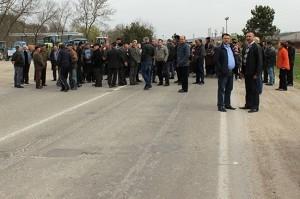 Fermierii protestează