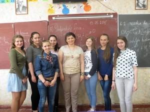 """Câştigătoarele proiectului """"My friends"""" împreună Alina Buga"""