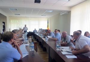 Şedinţă a Consiliului Orăşenesc Ungheni