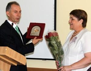 Felicitări actualului preşedinte  de la ex-preşedintele  raionului, Iurie Toma