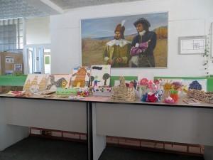 Expoziţie de lucrări ale elevilor din Cioropcani