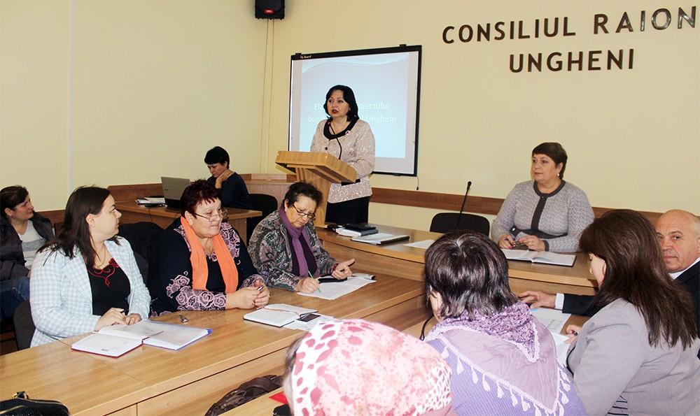 Tatiana Struc prezintă structura proiectului bugetului