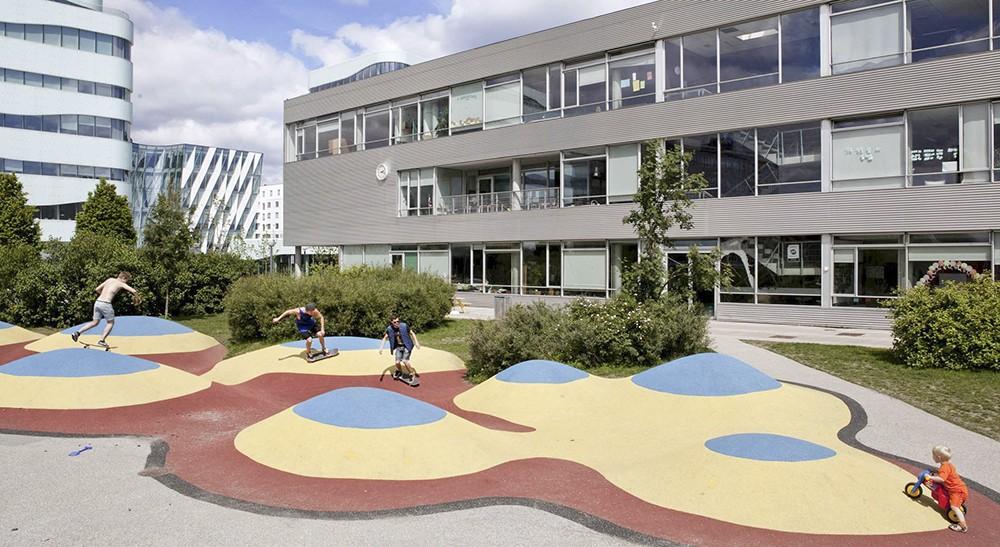 Hellerup. Școala viitorului. Sursa: openbuildings.com
