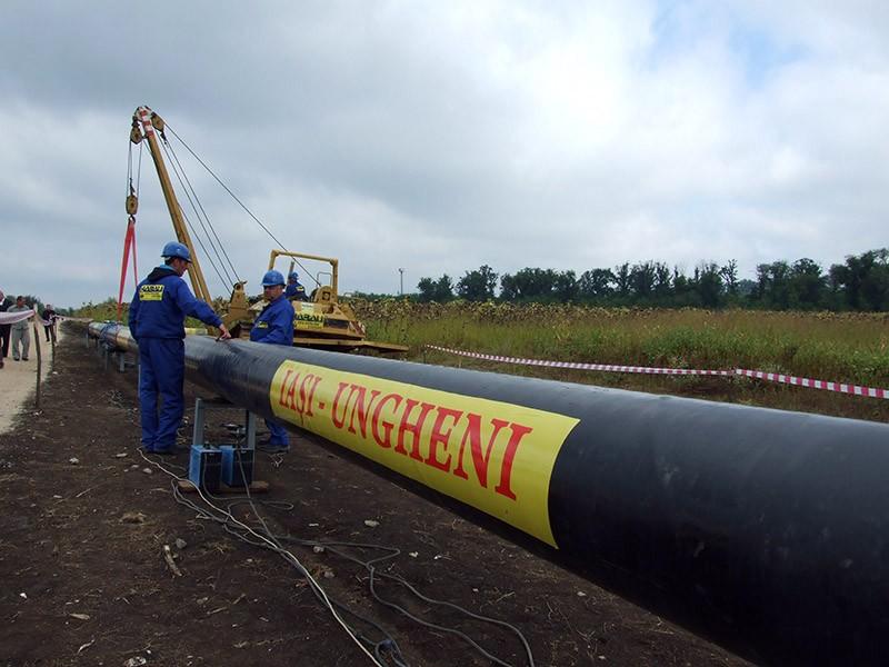 Construirea unei conducte de gaze naturale