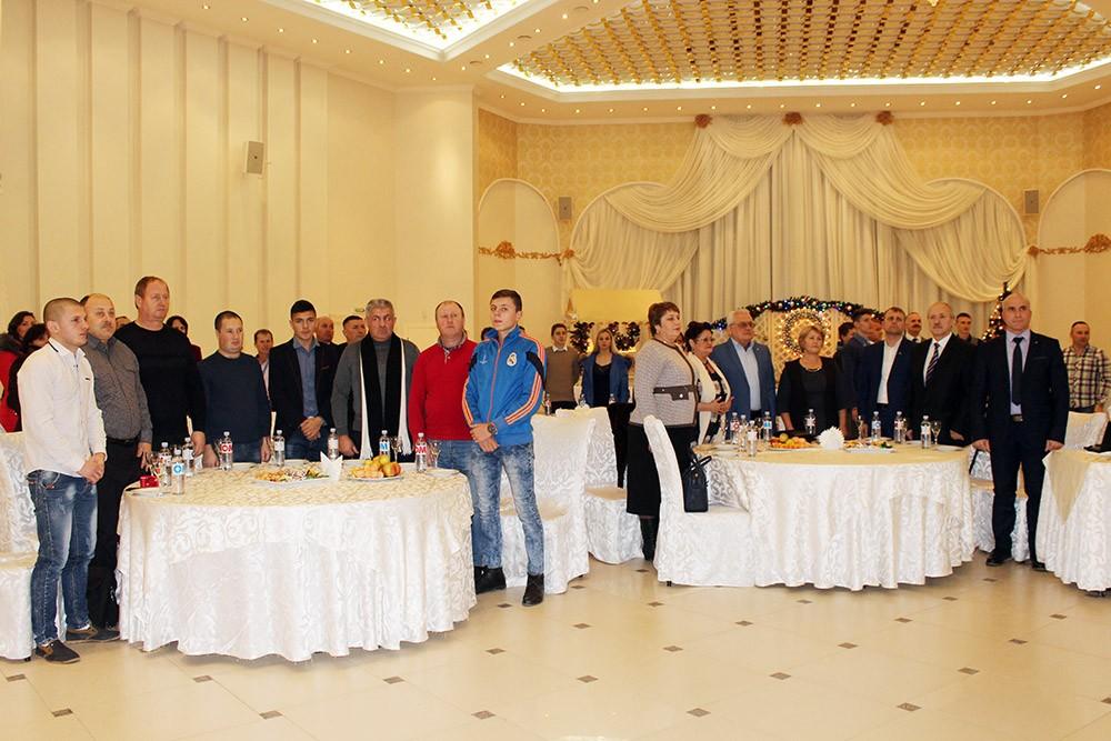 Secvență de la Gala fotbalului unghenean