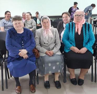 Eudochia Patrașcu , Maria Galbur și Nadejda Vîrlan