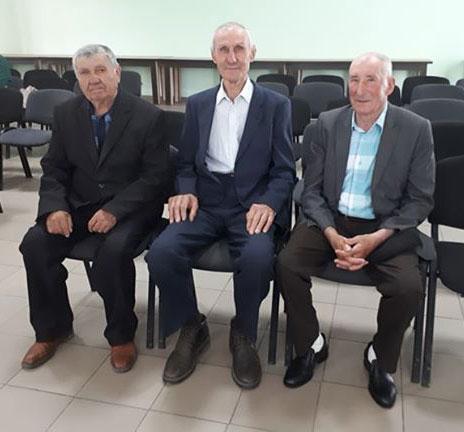 Ion Patrașcu, Anatolie Galbur, Mihail  Vîrlan